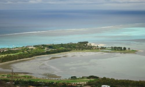 MAURITIUS / Black River district / Le Morne Brabant / Widok z Le Morne (2)