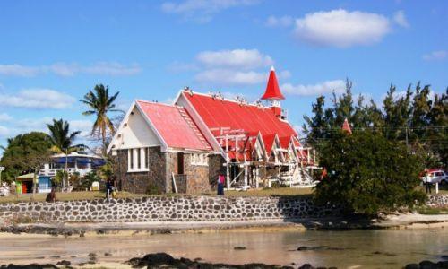 Zdjecie MAURITIUS / - / Cap Malheureux Church / Mauritius