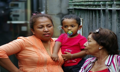 Zdjecie MAURITIUS / Port Louis / Port Louis / Nie ma jak u mamy...