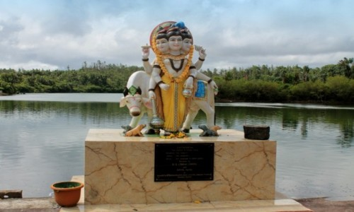 Zdjecie MAURITIUS / Ganga Talao / Ganga Talao / Hinduska Swiątynia