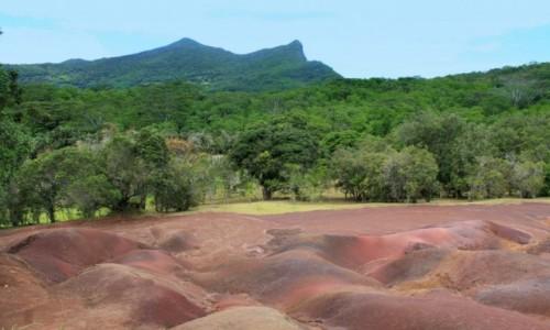 Zdjecie MAURITIUS / Chamarel / rezerwat / Rezerwat 7 Kolorów Ziemi