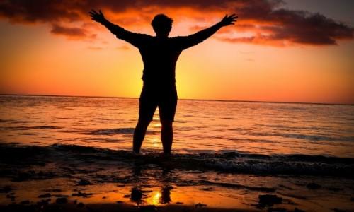 Zdjecie MAURITIUS / Ocean Indyjski / Port Louis / Zachód słońca nad Oceanem Indyjskim