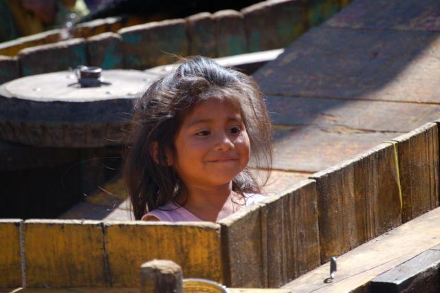 Zdjęcia: San Cristobal de las Casas, Girl na targu w Chiapas, MEKSYK