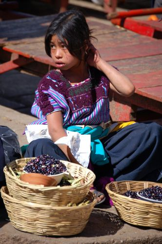 Zdj�cia: San Cristobal de las Casas, Chiapas, Targ w Chiapas, MEKSYK