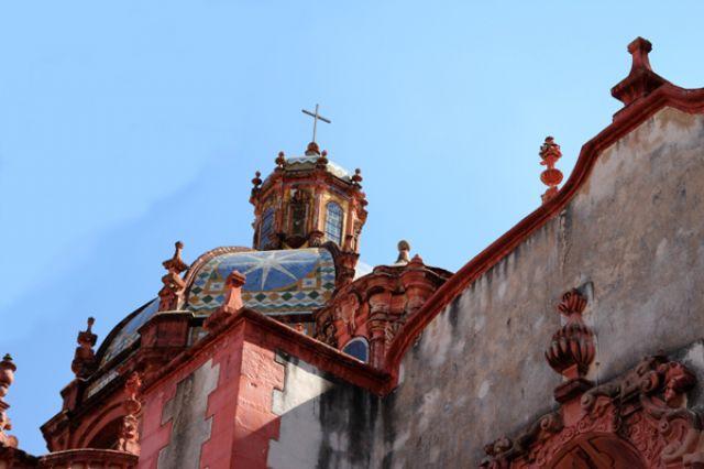 Zdjęcia: Taxco, Taxco - katedra, MEKSYK