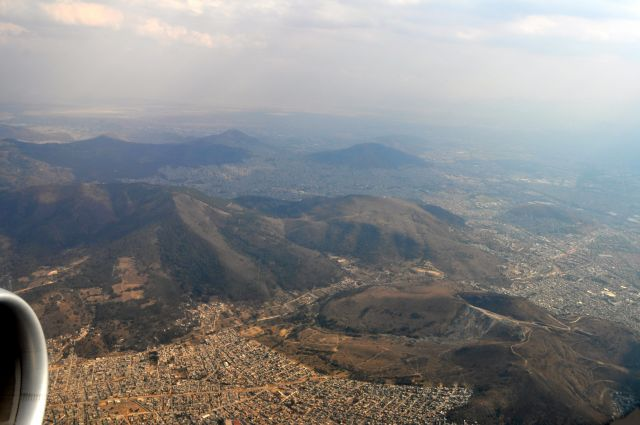 Zdjęcia: Samolot, Mexico City, MEKSYK