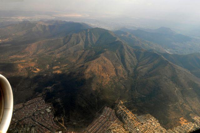 Zdjęcia: Samolot, pożegnanie z Mexico City, MEKSYK