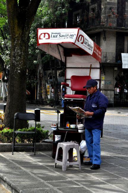 Zdjęcia: MEXICO CITY, Czyścibut, MEKSYK