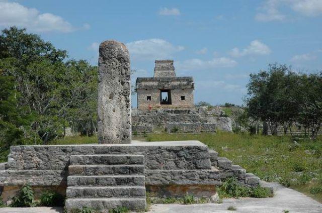 Zdjęcia: Dzibilchaltun, Yucatan, Ruiny Dzibilchaltun, MEKSYK