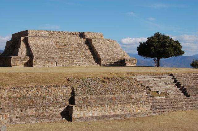 Zdjęcia: Monte Alban, Oaxaca, Starozytne miasto na szczycie góry, MEKSYK