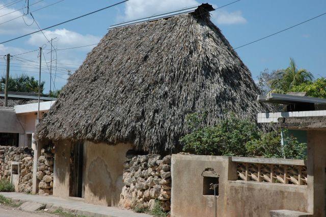 Zdjęcia: Małe Misteczko, Yucatan, Domek, MEKSYK