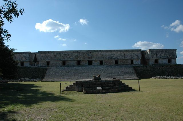 Zdjęcia: Uxmal, Yucatan, Budunek Rządu, MEKSYK