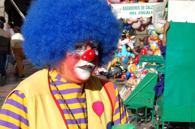 Zdj�cia: Puebla, Klown, MEKSYK