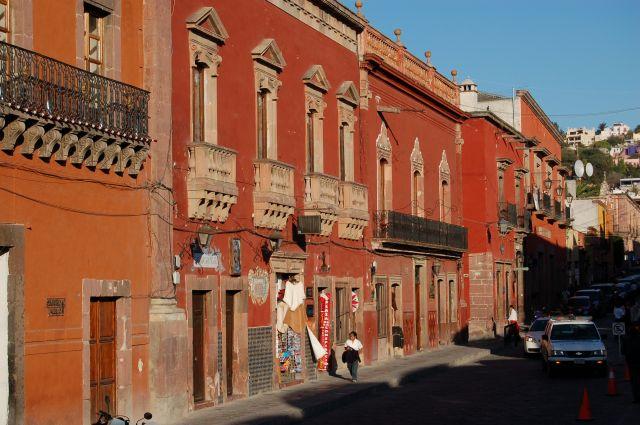 Zdj�cia: San Miguel de Allende, Uliczka, MEKSYK