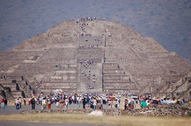 Zdjęcia: Mexico City-Teotihuacan, Piramida, MEKSYK