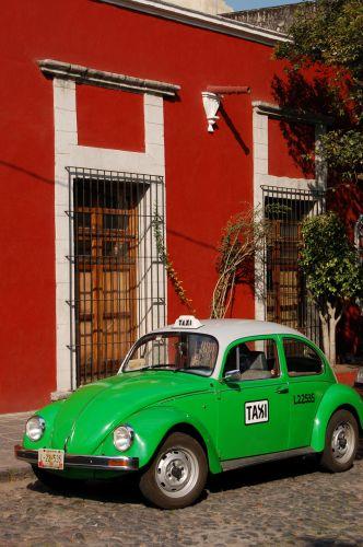 Zdjęcia: Mexico City - dzielnica San Angel, VW Garbus, MEKSYK