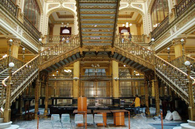 Zdjęcia: Mexico City - Zona Historica, Urząd Pocztowy, MEKSYK