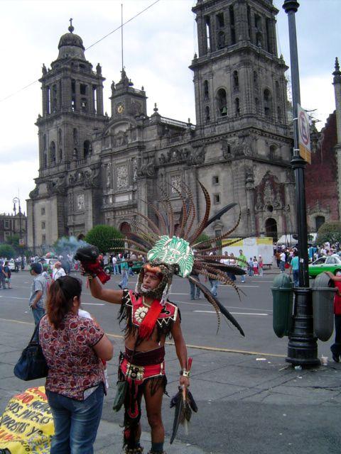 """Zdjęcia: Mexico DF, Miasto Meksyk, """"Oczyszczenie"""", MEKSYK"""
