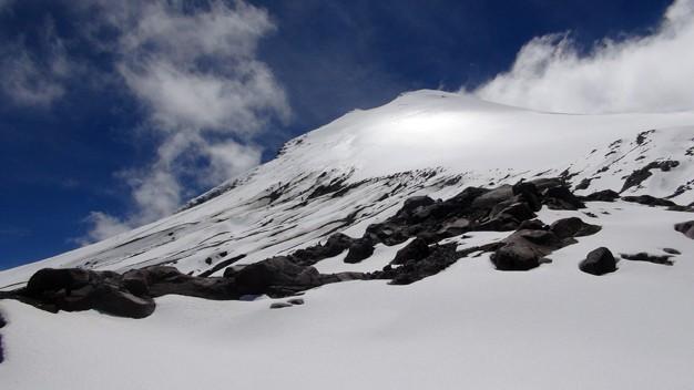 Zdjęcia: Pico de Orizabe, Pico de Orizabe, lodowiec Jampada, MEKSYK