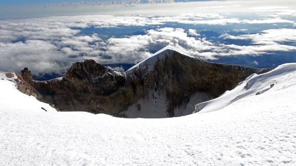 Zdjęcia: Pico de Orizabe, Pico de Orizabe, krater wulcanu Orizaba, MEKSYK