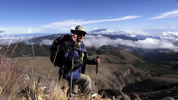 Zdjęcia: Pico de Orizabe, Pico de Orizabe, Ed Bochnak na stoku, MEKSYK