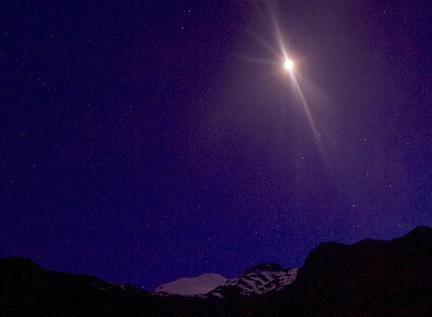 Zdjęcia: Pico de Orizabe, Pico de Orizabe, noc nad Orizaba, MEKSYK