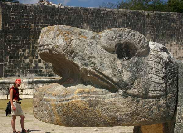Zdjęcia: Chichen Itza, Jukatan, Boisko do gry w piłkę, MEKSYK