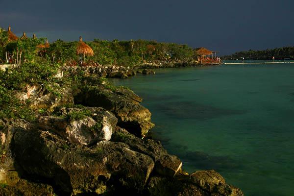 Zdjęcia: Xel-ha, Quintana Roo, Po deszczu, MEKSYK