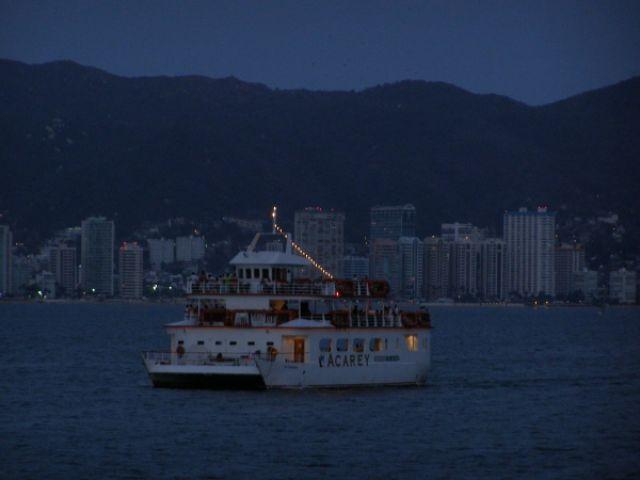Zdjęcia: Zatoka Acapulco, Zmierzch w Acapulco, MEKSYK
