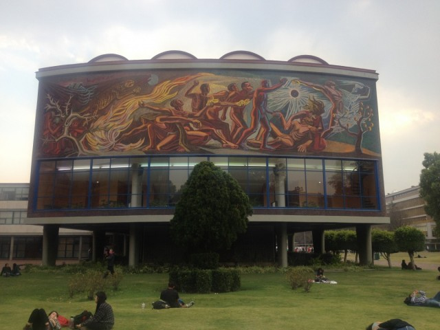 Zdjęcia: Miasto Meksyk, Miasto Meksyk, Muralizm w Meksyku, MEKSYK