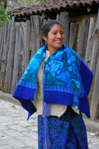 Zdjęcia: okolice San Juan Chamula, Chiapas, Indianka, MEKSYK