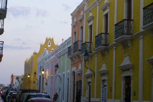 Zdjęcia: Campeche, zmierzch w Campeche1, MEKSYK