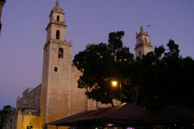 Zdjęcia: Merida, Zocalo w Meridzie, MEKSYK