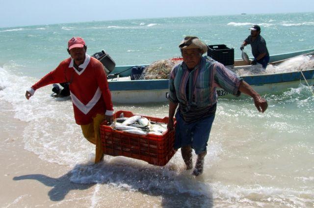 Zdjęcia: Celestum, Jukatan, Udany połów, MEKSYK