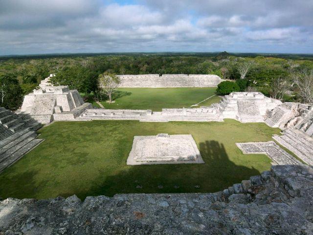 Zdjęcia: Jukatan, Edzna 1, MEKSYK