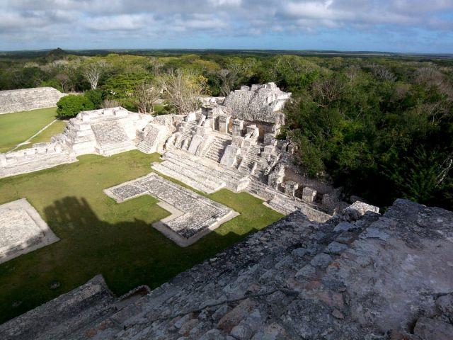 Zdj�cia: Jukatan, Edzna 2, MEKSYK