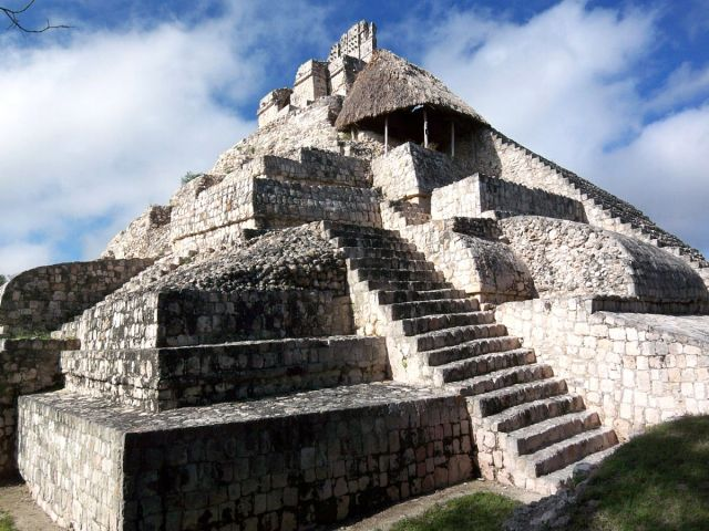 Zdjęcia: Jukatan, Edzna  5, MEKSYK