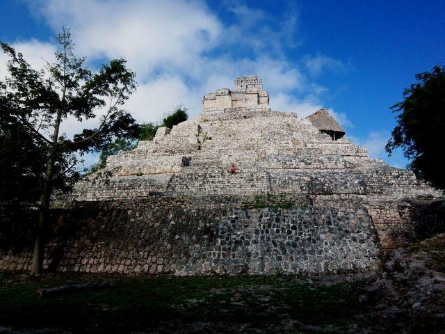 Zdjęcia: Jukatan, Edzna 6, MEKSYK