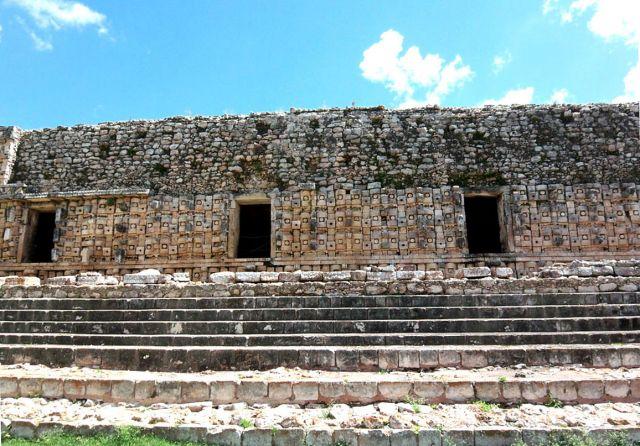 Zdjęcia: Jukatan, Kabah - 300 twarzy Boga Deszczu, MEKSYK