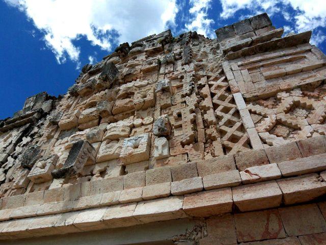 Zdjęcia: Jukatan / Uxmal, wyobrazenia boga Chaca, MEKSYK