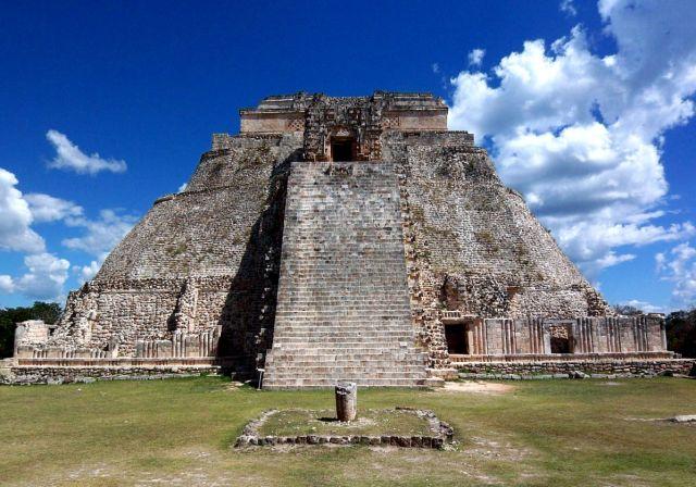 Zdjęcia: Jukatan / Uxmal, Swiatynia Czarownika , MEKSYK