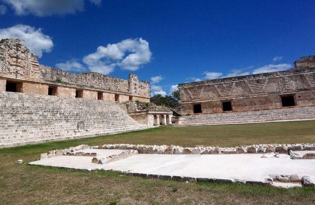 Zdjęcia: Jukatan / Uxmal, Dom Mniszek, MEKSYK