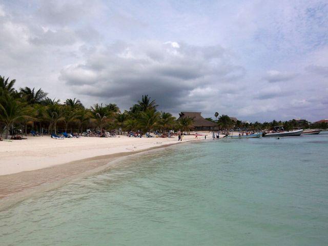 Zdjęcia: Jukatan , plaza w Akumal, MEKSYK