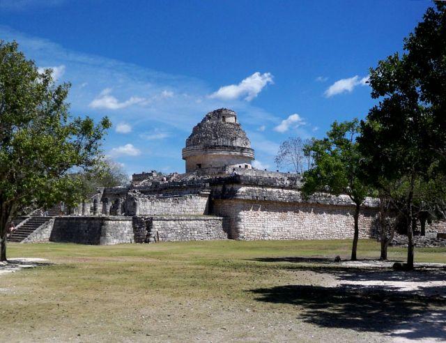 Zdjęcia: Jukatan / Chichen Itza, El Caracol - planetarium sprzed 1000 lat, MEKSYK