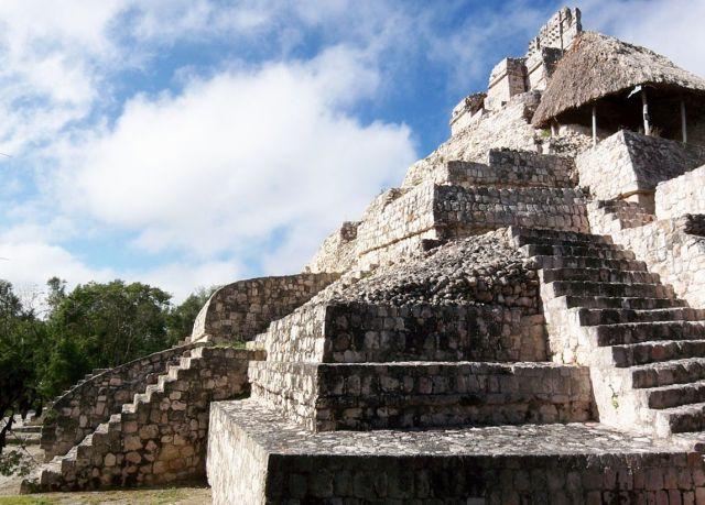 Zdjęcia: Jukatan, Edzna, MEKSYK