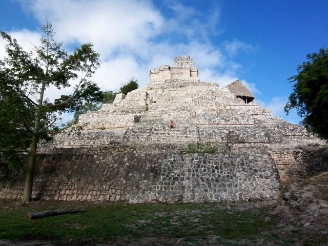 Zdjęcia: Jukatan, Edzna 2, MEKSYK