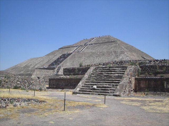 Zdjęcia: Museum Teotihuacan, Piramida w Museum Teotihuacan, MEKSYK