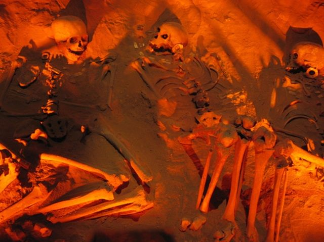 Zdjęcia: Museum Teotihuacan, Grobowiec, MEKSYK
