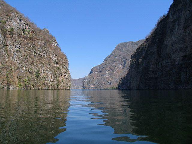Zdjęcia: Kanion del Sumidero, Chiapas, w kanionie 2, MEKSYK