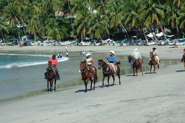 Zdjęcia: Puerto Escondido, Oaxaca, Plaża, MEKSYK